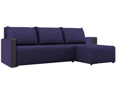 Угловой диван Алиса 3 Savana Violet-Teos Black кат. 1