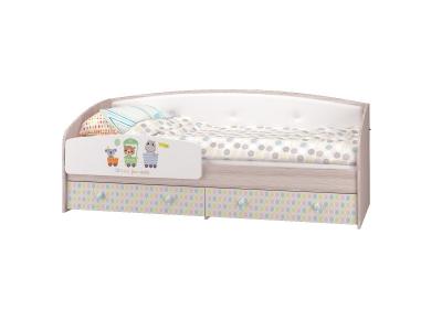 Кровать-софа с бортиком Цирк