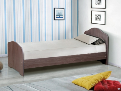 Кровать одинарная на уголках №1 Матрица