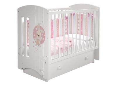 Кроватка детская Софи 3 Банни маятник с ящиком