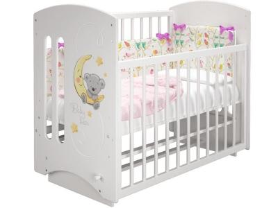 Кроватка детская Софи 2 Лунный мишка с маятником