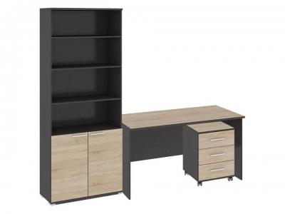 Стандартный набор офисной мебели Успех-2 ГН-184.000 Венге Цаво, Дуб Сонома