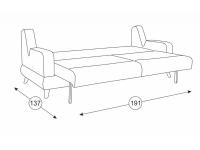 Диван-кровать Стивен ТД 955