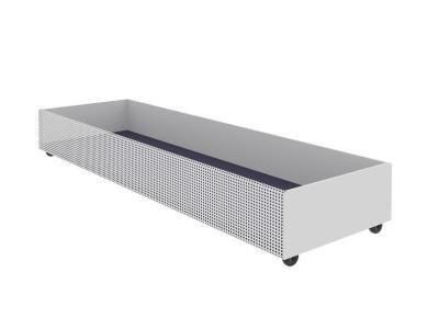 Ящик для белья выкатной Милсон белый 1800х540х210 мм